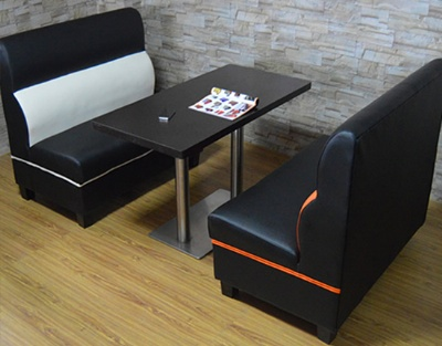 Sofa Booth Table Chair Set